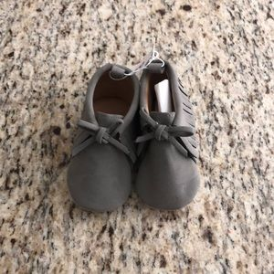 Old navy gray moccasins